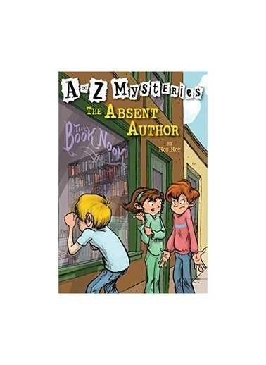 Morhipo kitap The Absent Author A To Z Mysteries Rando Renkli